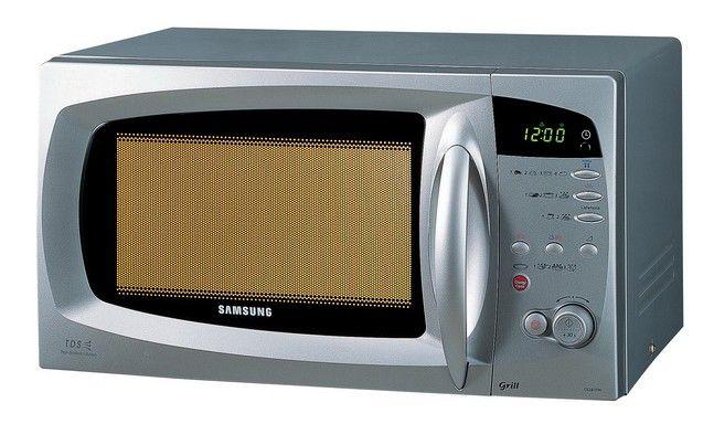 Микроволновая печь SAMSUNG CE287DNR1S, серебристый