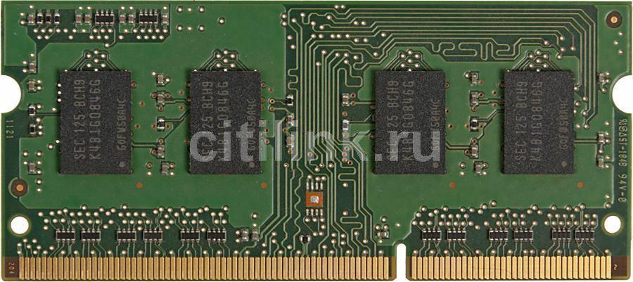 Модуль памяти SAMSUNG DDR3 -  1Гб 1333, SO-DIMM,  OEM