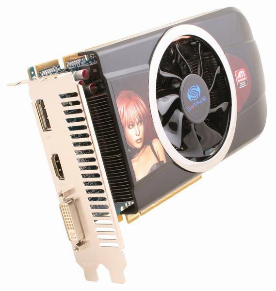 Видеокарта SAPPHIRE Radeon HD 5770,  512Мб, GDDR5, oem [11163-xx-10r]