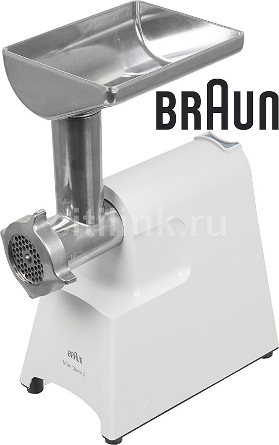 Мясорубка BRAUN G1300,  белый