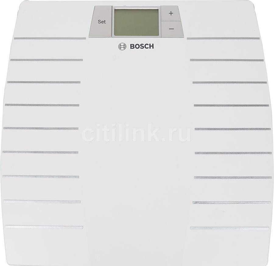 Весы BOSCH PPW3120, до 150кг, цвет: белый