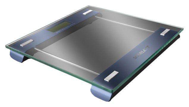 Напольные весы SCARLETT SC219, до 150кг, цвет: синий