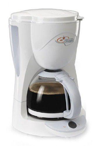 Кофеварка DELONGHI ICM 2,  капельная,  белый