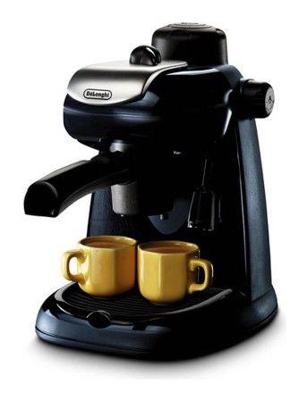 Кофеварка DELONGHI EC7,  эспрессо,  черный