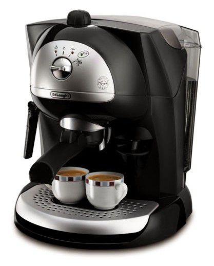 Кофеварка DELONGHI EC410,  эспрессо,  черный