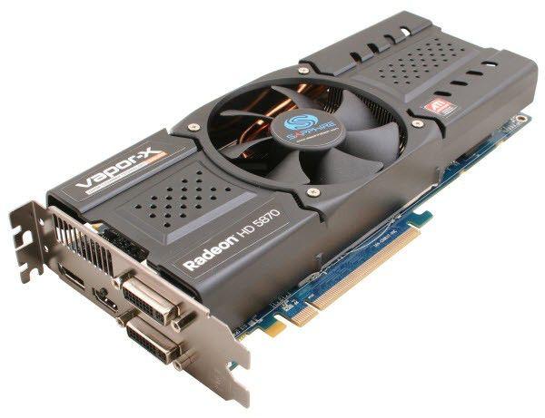 Видеокарта SAPPHIRE Radeon HD 5870,  1Гб, DDR5, OC,  Ret [11161-xx-50r]