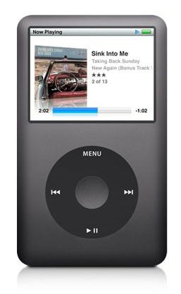 MP3 плеер APPLE iPod Classic hdd 160Гб черный [mc297]