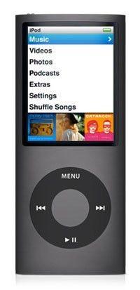 MP3 плеер APPLE iPod Nano flash 16Гб черный [mc062]