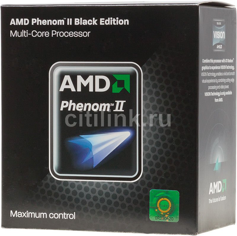 Процессор AMD Phenom II X2 555, SocketAM3 BOX [hdz555wfgmbox]