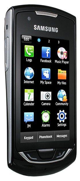 Мобильный телефон SAMSUNG Monte GT-S5620  черный