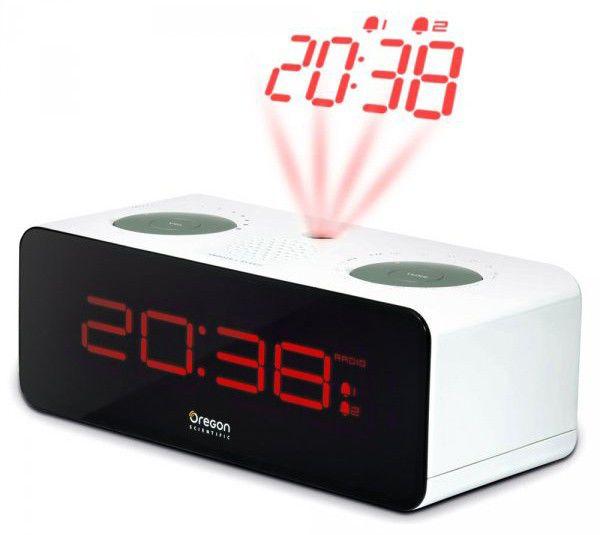 Радиобудильник OREGON SCIENTIFIC RRA320PN, белый