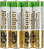 AAA Батарейка GP Super Alkaline 24ARS LR03,  4 шт. вид 1