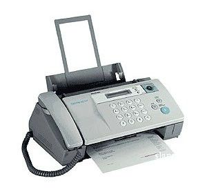 Факс SHARP UX-BA50,  струйный,  серый