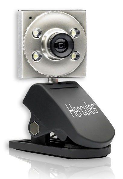 Web-камера HERCULES Hercules Classic Silver,  серебристый и черный [4780465]