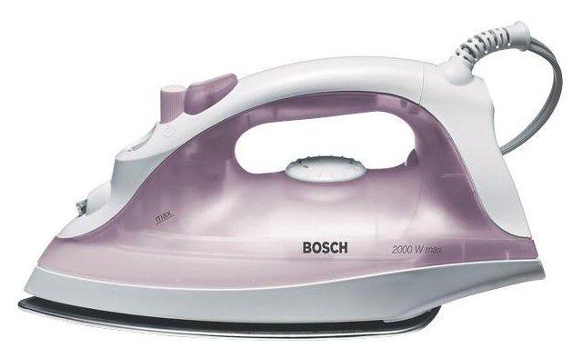 Утюг BOSCH TDA2340,  2000Вт,  фиолетовый/ белый