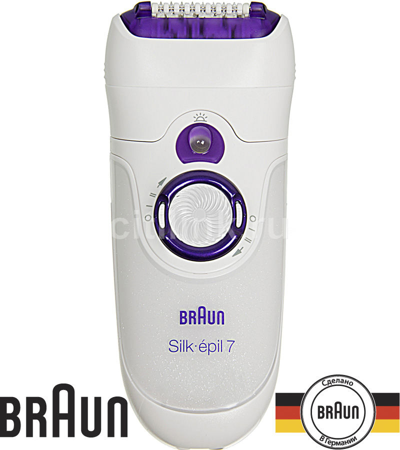 Эпилятор BRAUN SE7180 белый [81272960]