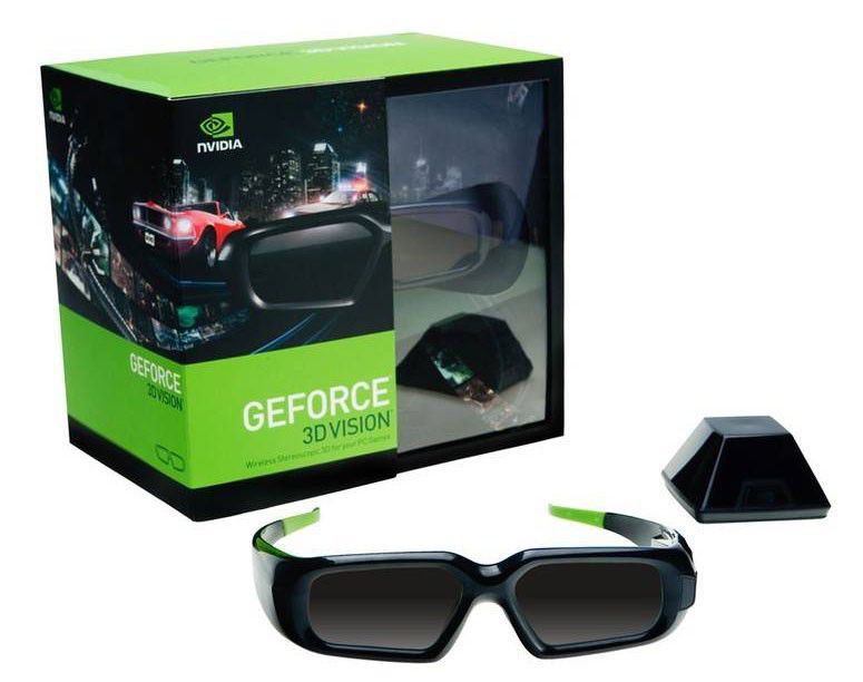 Очки 3D NVIDIA Vision Geforce KIT with RECEIVER,  1 шт [942-10701-0005-504]