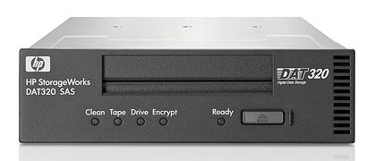 Ленточный привод HP DAT 320 SAS Internal Tape Drive (AJ830A)