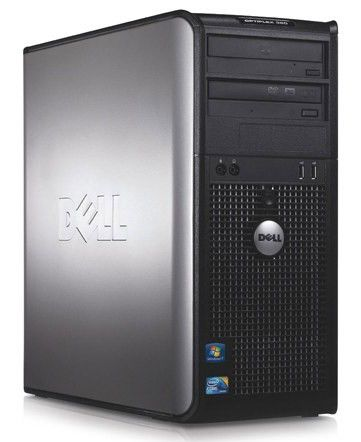 DELL Optiplex 380,  Intel  Core2 Duo  E7500,  DDR3 2Гб, 160Гб,  Intel GMA 4500,  DVD-RW,  Windows 7 Professional,  черный [210-30597]