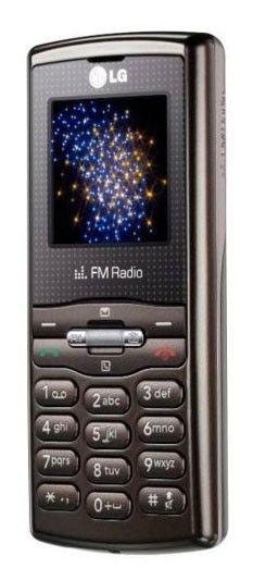 Мобильный телефон LG GB 110  коричневый