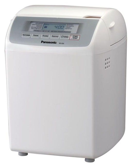 Хлебопечь PANASONIC SD-255,  белый