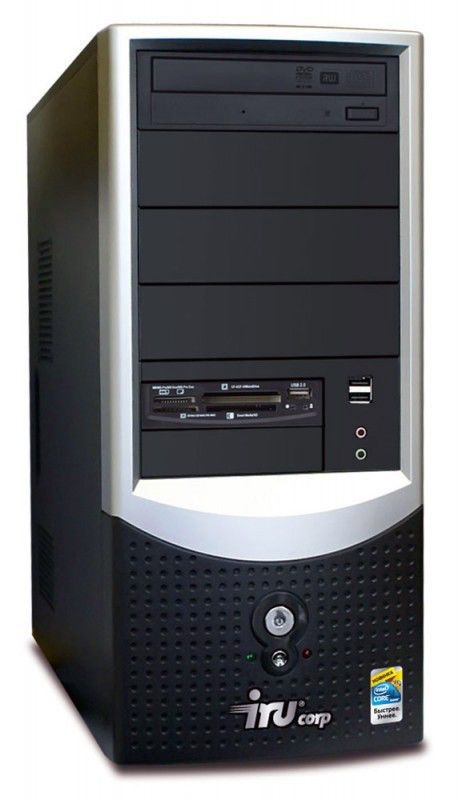 IRU Corp 320,  AMD  Athlon II X2  240,  DDR2 2Гб, 160Гб,  nVIDIA GeForce 7050,  DVD-RW,  Windows XP Professional,  черный