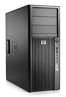 HP Z200,  Intel  Core i3  530,  DDR3 2Гб, 250Гб,  Intel HD Graphics,  DVD-RW,  Windows 7 Professional,  черный [kk610ea]
