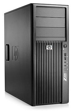HP Z200,  Intel  Xeon  X3430,  DDR3 3Гб, 320Гб,  DVD-RW,  Windows 7 Professional,  черный [kk612ea]