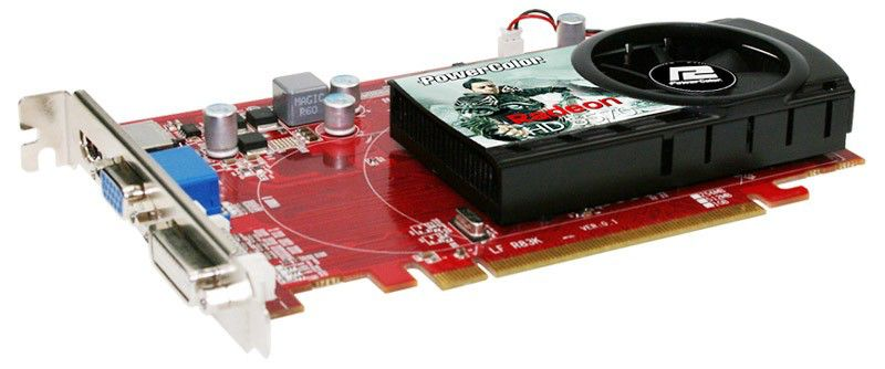 Видеокарта POWERCOLOR Radeon HD 5570,  512Мб, DDR3, Ret [ax5570 512mk3-h]