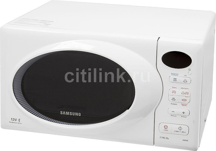 Микроволновая печь SAMSUNG GE87GR, белый