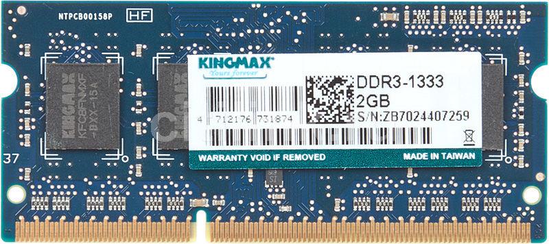 Модуль памяти KINGMAX DDR3 -  2Гб 1333, SO-DIMM,  OEM