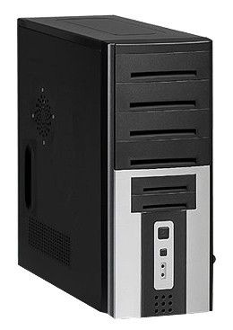 IRU Corp 310,  Intel  Celeron Dual-Core  E3200,  DDR2 1Гб, 250Гб,  Intel GMA 3100,  DVD-RW,  CR,  Free DOS,  черный