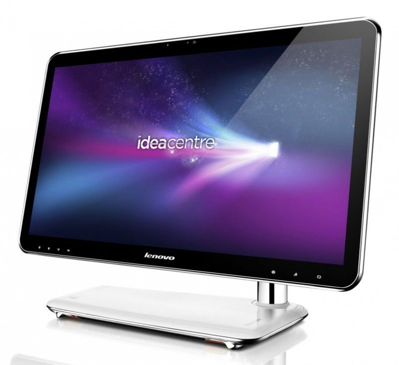LENOVO IdeaCentre А300-4,  Intel  Pentium Dual-Core  T4400,  DDR3 2Гб, 320Гб,  Intel GMA X4500,  без ODD,  Windows 7 Home Premium,  белый [57 119 776]