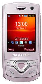 Мобильный телефон SAMSUNG GT-S5550  розовый