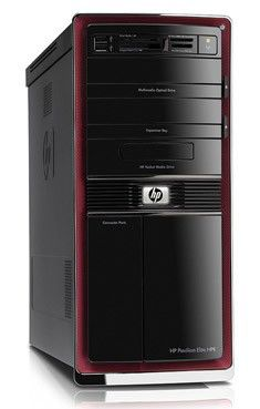 HP Pavilion Elite HPE-110ru,  Intel  Core i5  750,  DDR3 4Гб, 1.5Тб,  nVIDIA GeForce GT230 - 1536 Мб,  DVD-RW,  Windows 7 Home Premium,  черный и красный [wk711aa]