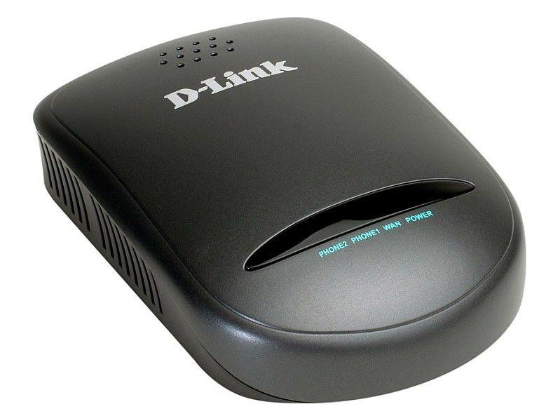 Шлюз D-Link DVG-2102S/E1 VoIP с поддержкой TR069 2 FXS ports RJ-11 1x10/100BASE-TX