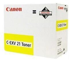 Тонер CANON C-EXV21,  для IRC2880/3380/3880,  желтый, 260грамм, туба [0455b002]