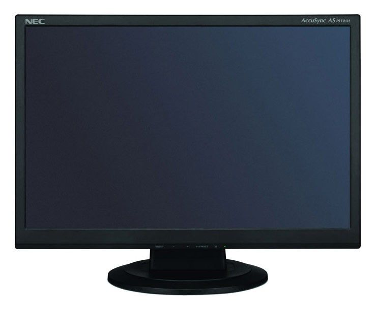 "Монитор ЖК NEC AccuSync AS191WM-BK 19"", черный"