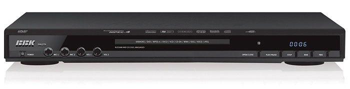 DVD-плеер BBK DV627SI,  черный,  диск 4000 песен