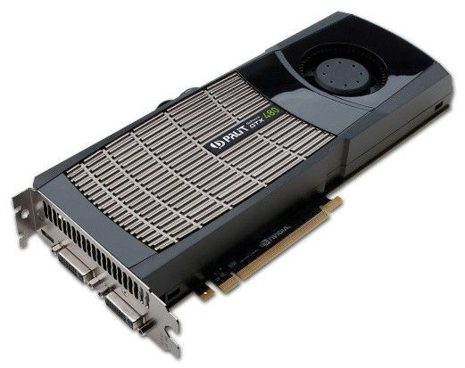Видеокарта PALIT nVidia  GeForce GTX 480 ,  1.5Гб, GDDR5, Ret [ne5tx480f09cb]