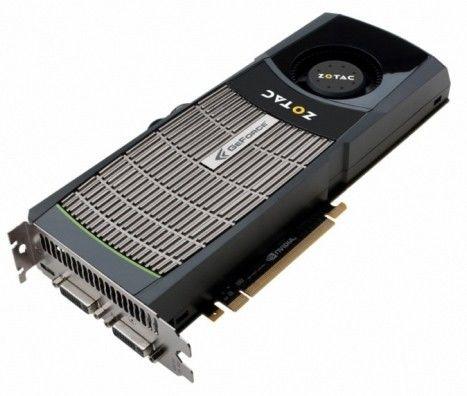 Видеокарта ZOTAC nVidia  GeForce GTX 480 ,  1.5Гб, GDDR5, Ret [zt-40101-10p]