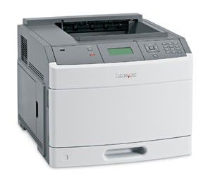 Принтер LEXMARK T650n лазерный, цвет:  белый [30g0102]