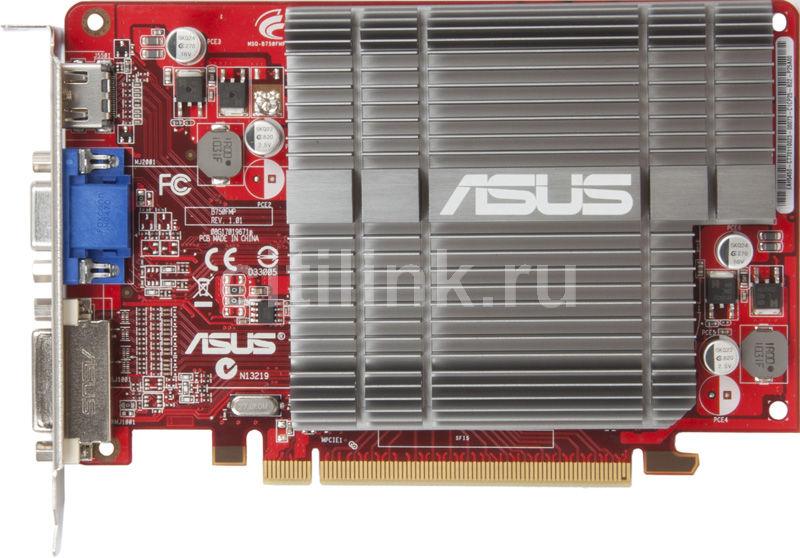 Видеокарта ASUS Radeon HD 5450,  1Гб, DDR2, Ret [eah5450 silent/di/1gd2]
