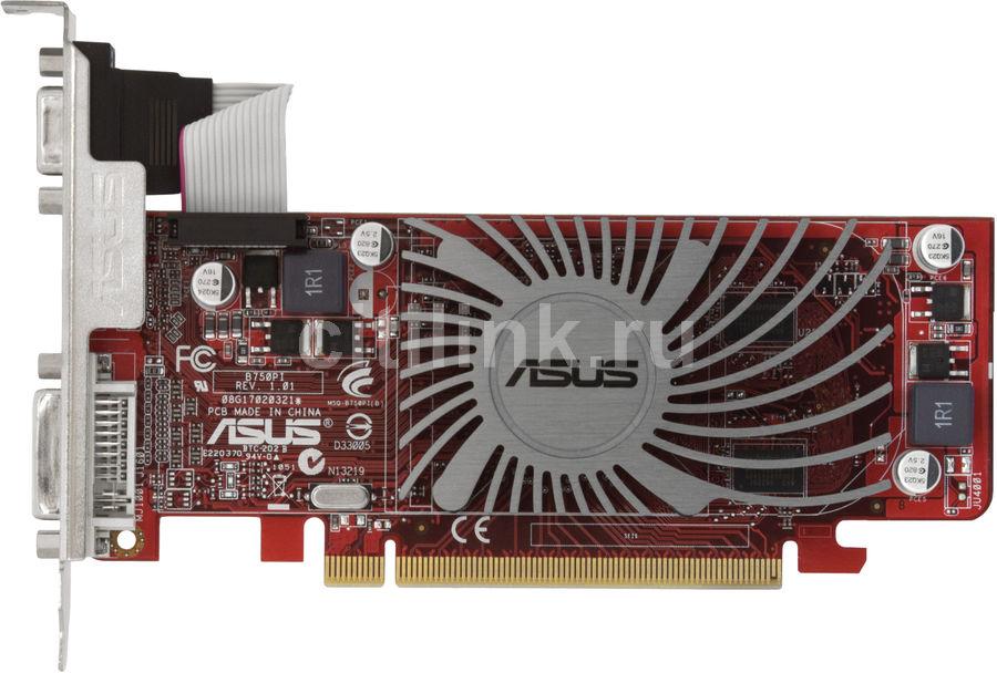 Видеокарта ASUS Radeon HD 5450,  512Мб, DDR2, Low Profile,  Ret [eah5450 silent/di/512md2/lp]