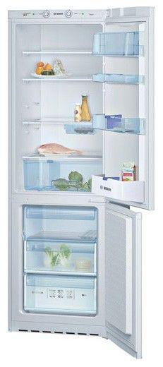 Холодильник BOSCH KGS36V25,  двухкамерный,  белый