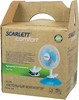 Вентилятор настольный SCARLETT SC-170,  белый и голубой [sc170] вид 8