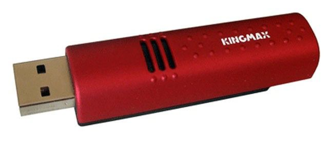 Флешка USB KINGMAX Urban 4Гб, USB2.0, красный [ud-01]