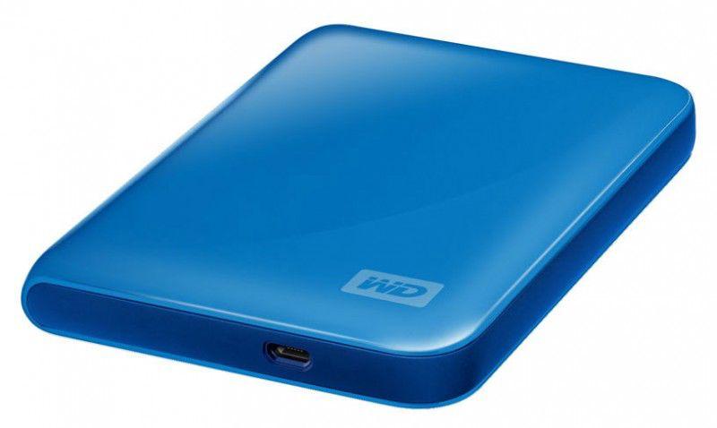 Внешний жесткий диск WD My Passport Essential WDMEBP3200R, 320Гб, голубой