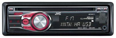 Автомагнитола JVC KD-R417,  USB