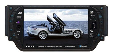 Автомагнитола VELAS VDM-MB504TV,  USB